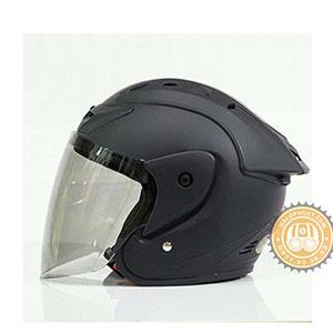Mũ bảo hiểm 3/4 Asia M115 (có kính)