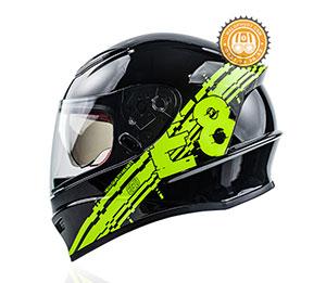 Mũ bảo hiểm Fullface liền hàm 2 kính EGO-E-8 SV